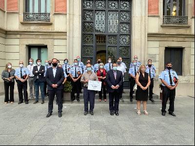 acte calendari solidari mossos d'esquadra