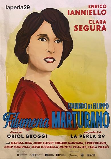 cartell filumena marturano agenda cultural accessible