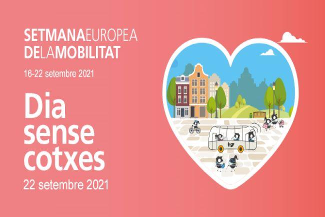 cartell setmana europea de la mobilitat