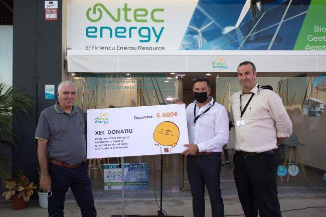 donació xec solidari ontec energy_Fundació el Maresme_11