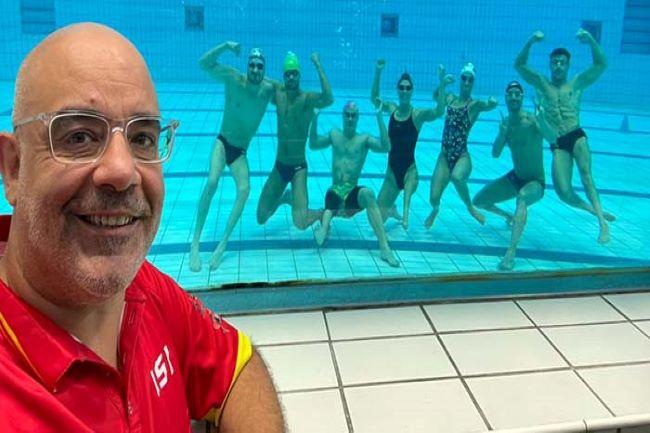 jaume marcé entrenador natació adaptada