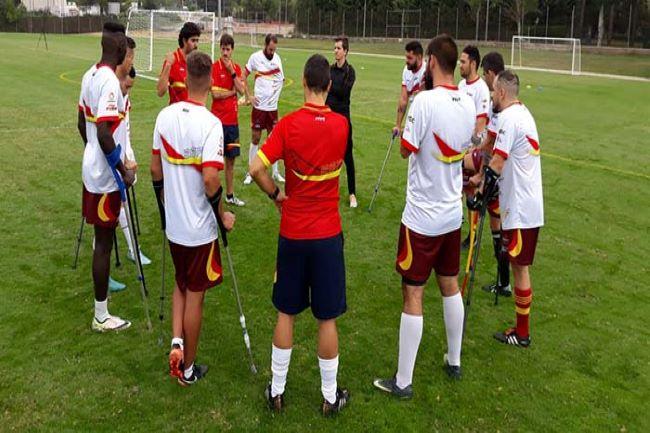 seleccio espanyola futbol amputats