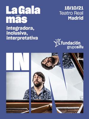 Cartel La Gala més IN Madrid