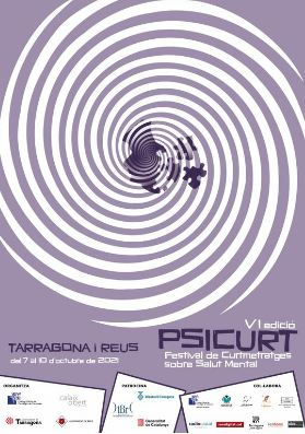 cartell 6a edició del festival psicurt de curts sobre salut mental