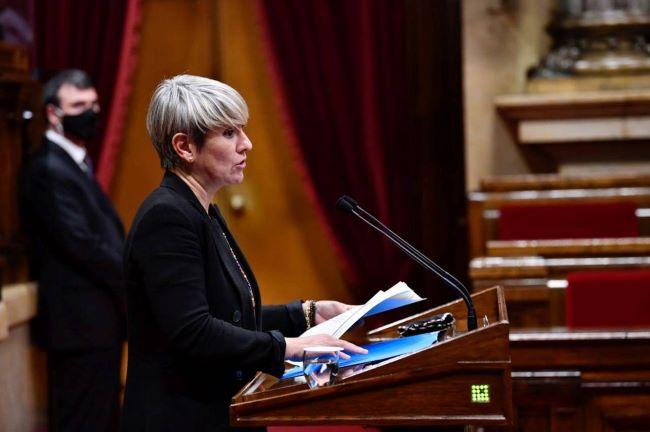 lourdes ciuró consellera de justicia al parlament